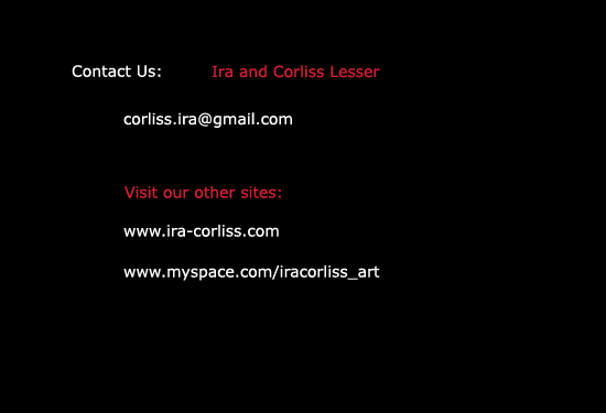 contact information for collaborative artists Ira and Corliss Lesser